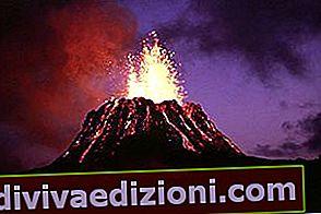 Definisi letusan gunung berapi