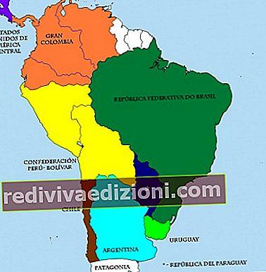 ความหมายของ Gran Colombia